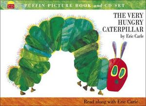 VERY HUNGRY CATERPILLAR, THE (+ CD)