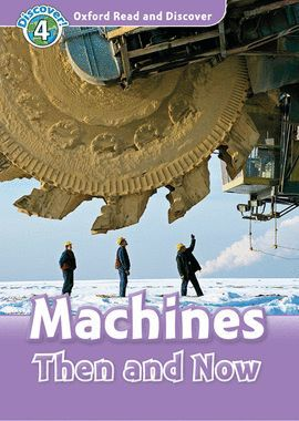 MACHINES THEN AND NOW (MP3 PACK) READ AND DISCOVER 4