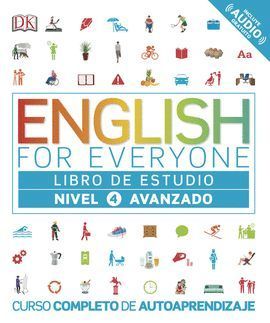 ENGLISH FOR EVERYONE. NIVEL AVANZADO 4 - LIBRO DE ESTUDIO