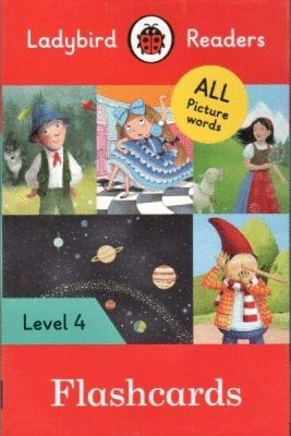 LADYBIRD READERS LEVEL 4 FLASHCARDS (LB)