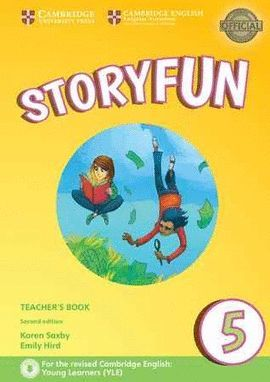 STORYFUN FOR FLYERS 5 -TEACHER'S BOOK- WITH AUDIO