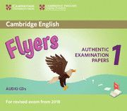 CAMBRIDGE ENGLISH FLYERS 1 FOR REVISED EXAM FROM 2018. AUDIO CDS (2)