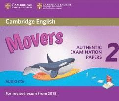 CAMBRIDGE ENGLISH MOVERS 2 AUDIO CD (REVISED EXAM 2018)