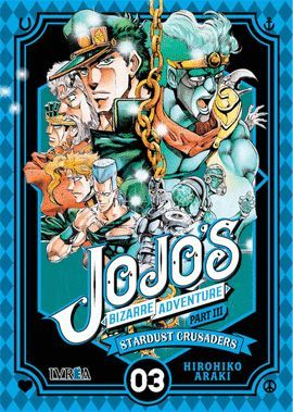 STARDUST CRUSADERS VOL 3