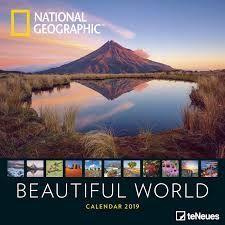 CALENDAR 2019 BEAUTIFUL WORLD