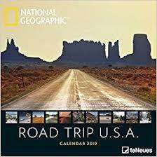 CALENDAR 2019 ROAD TRIP USA