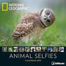 CALENDAR 2019 ANIMAL SELFIES