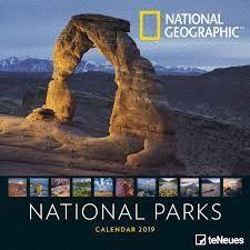 CALENDAR 2019 NATIONAL PARKS