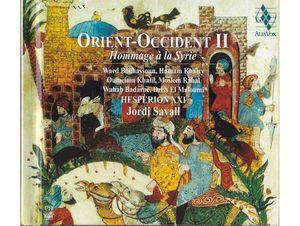 ORIENT-OCCIDENT II  ( CD )