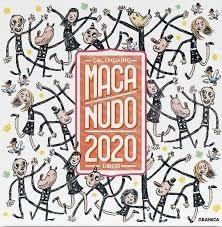CALENDARIO 2020 MACANUDO DE PARED
