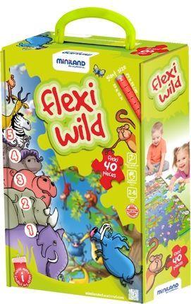 FLEXI WILD - MAXIPUZZLE FLEXI 40 PIECES