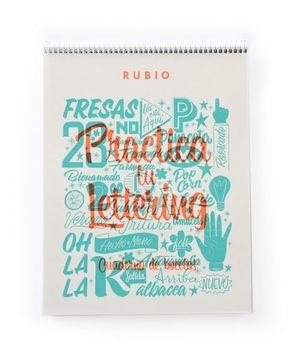 PRÁCTICAS DE LETTERING - CUADERNO DE BOCETOS