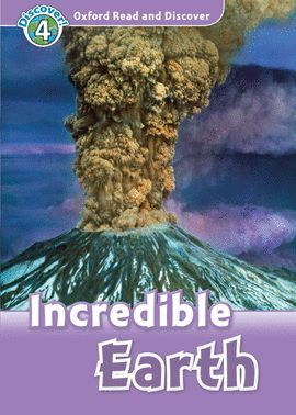INCREDIBLE EARTH (MP3 PK) OXFORD READ AND DISCOVER 4