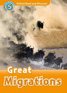 GREAT MIGRATIONS (MP3 PACK) READ AND DISCOVER 5