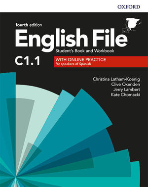 ENGLISH FILE C1.1. STUDENT'S BOOK AND WORKBOOK WITH KEY PACK