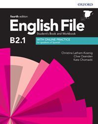 ENGLISH FILE B2.1 - STUDENT'S BOOK AND WORKBOOK WITH KEY PACK