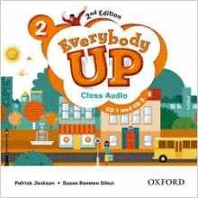 EVERYBODY UP 2 CLASS AUDIO CD (2) 2 ED