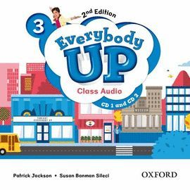 EVERYBODY UP 3 CLASS AUDIO-CD (2) 2 ED