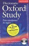 OXFORD STUDY ESPAÑOL / INGLES  ( CD-ROM PACK )