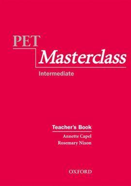 PET MASTERCLASS INTERMEDIATE. TEACHER'S BOOK