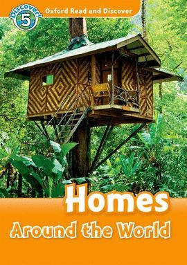 HOMES AROUND WORLD WITH AUDIO CD (READ AND DISCOVER-5)