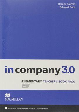 IN COMPANY 3.0 ELEMENTARY TEACHER'S BOOK