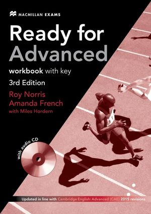 READY FOR ADVANCED WORKBOOK WITH KEY + AUDIO CD
