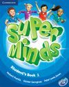 SUPER MINDS 1 STUDENT 'S BOOK + DVD-ROM