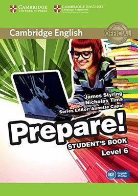 PREPARE! 6 STUDENT 'S BOOK