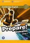 PREPARE! WORKBOOK LEVEL 1 WITH DOWNLOADABLE AUDIO