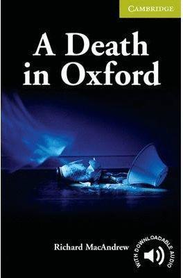 A DEATH IN OXFORD (STARTER/BEGINNER LEVEL)