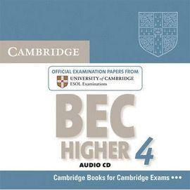 CAMBRIDGE BEC 4 HIGHER AUDIO CD