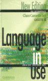 LANGUAGE IN USE. PRE-INTERMEDIATE. CLASS CASSETTE