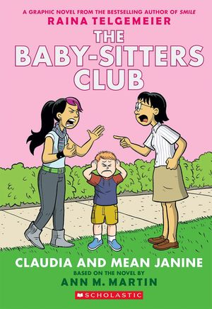 BABY-SITTERS CLUB 4 - CLAUDIA AND MEAN JAN