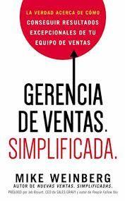GERENCIA DE VENTAS. SIMPLIFICADA.