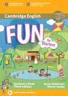 FUN FOR STARTERS STUDENT 'S BOOK WITH DOWNLOADABLE AUDIO