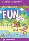 FUN FOR MOVERS STUDENT 'S BOOK WITH DOWNLOADABLE AUDIO