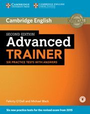 ADVANCED TRAINER WITH ANSWERS + DOWNLOADABLE AUDIO