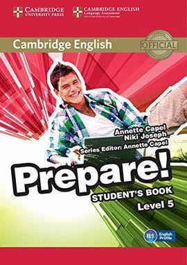 PREPARE! 5 STUDENT 'S BOOK