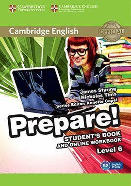 PREPARE! 6 STUDENT 'S BOOK AND ONLINE WORKBOOK