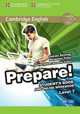 PREPARE! 7 STUDENT 'S BOOK AND ONLINE WORKBOOK