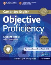 OBJECTIVE PROFICIENCY STUDENT'S BOOK WITH ANSWERS + CLASS AUDIO CD (2)