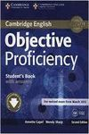 OBJECTIVE PROFICIENCY STUDENT 'S BOOK WITH ANSWERS