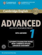 CAMBRIDGE ENGLISH ADVANCED 1 STUDENT 'S BOOK PACK + AUDIO CD