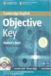 OBJECTIVE KEY STUDENT 'S BOOK WITHOUT ANSWERS + CD-ROM