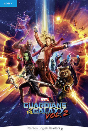 MARVEL'S THE GUARDIANS OF THE GALAXY VOL.2 LEVEL 4: BOOK & MP3 PACK