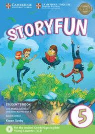 STORYFUN FOR FLYERS LEVEL 5. STUDENT+ONLINE ACTIVITIES+HOME FUN BOOKLET