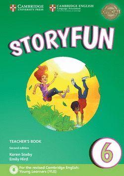 STORYFUN FOR FLYERS 6 -TEACHER'S BOOK- WITH AUDIO