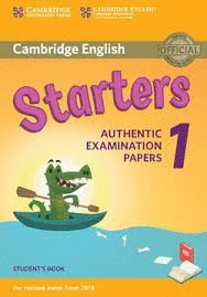 STARTERS 1. STUDENT'S BOOK