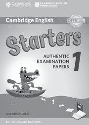 CAMBRIDGE YOUNG LEARNERS ENGLISH TESTS STARTERS 1 ANSWER KEY